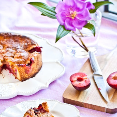 Blood Plum Torte