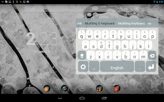 Screenshot of Multiling O Keyboard + emoji