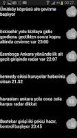 Screenshot of Ankara Çevirme Radar