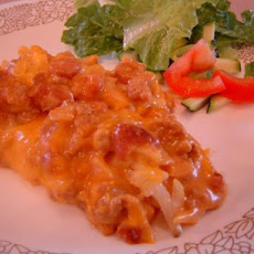 Beef and Bean Ranch Bake