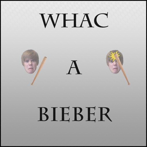 Whac A Bieber LOGO-APP點子