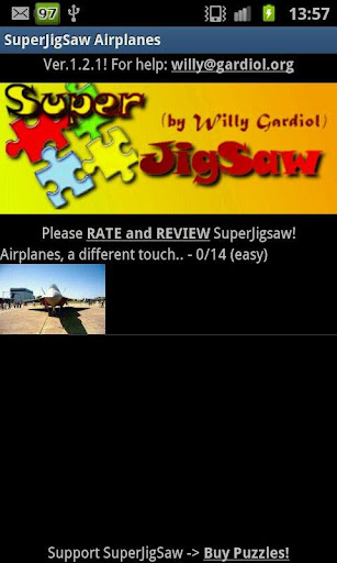 SuperJigSaw Airplanes