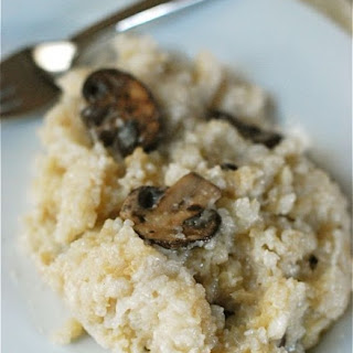 Slow Cooker Mushroom Sage Risotto