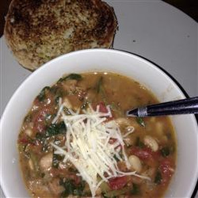 My Canadian Friend's Bean Soup