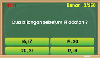 Screenshot of Matematika 1 SD Gratis