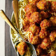 Turkey Meatballs in Paprika Tomato Sauce