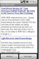 Screenshot of Daily Video Food Recipes
