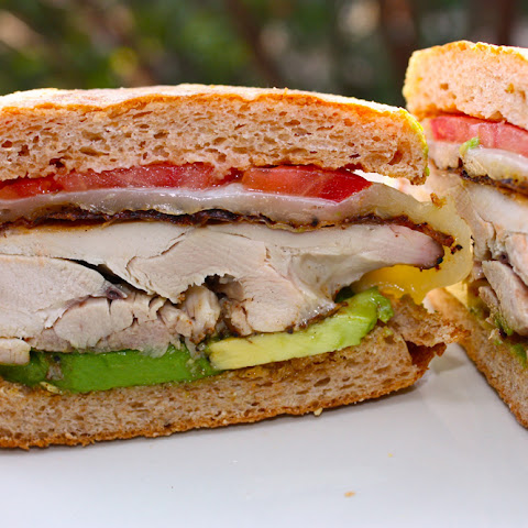 Coffee-Rubbed Chicken Sandwich