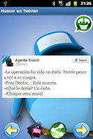 Screenshot of Humor en Tweets