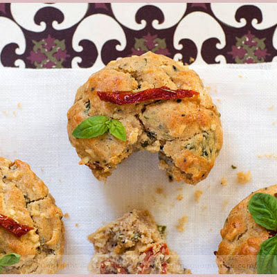 Sun-Dried Tomato and Parsnip Muffins