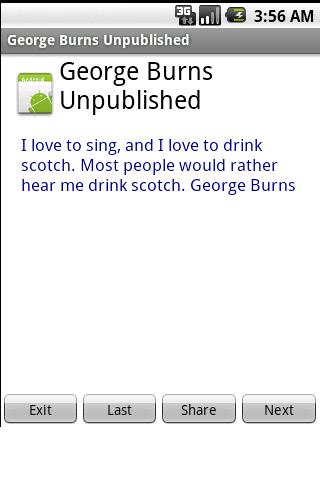 【免費娛樂App】GeorgeBurnsUnpublished-APP點子