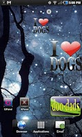 Screenshot of I Love Dogs doo-dad