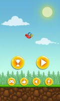 Screenshot of Floppy Bird HD