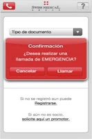 Screenshot of SMG Emergencias