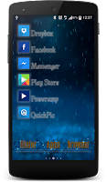Screenshot of Launchy Widget