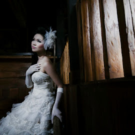 Hold Me..... by Amin Basyir Supatra - Wedding Bride ( bali, prewedding, wedding, beautiful, gown, bride )