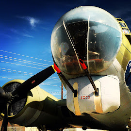 Old WWII bomber by Nikki Chisolm - Transportation Airplanes ( aircraft, helicoptors )