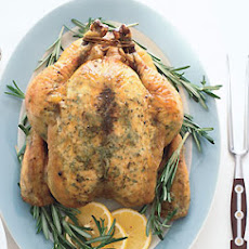 Garlic-Rosemary Roast Chicken