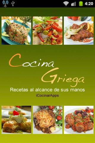 iCocinar Cocina Griega