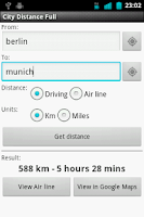 Screenshot of City Distance
