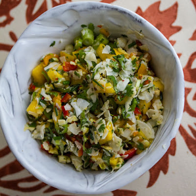 Coconut Mango Chili Pepper Salsa
