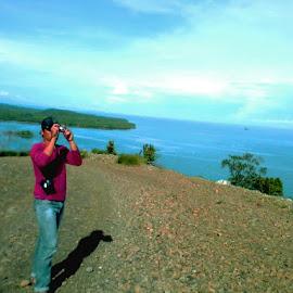 My Way by Armando Quezon - Digital Art Places ( berong, high way beyond the beach, quezon palawan )