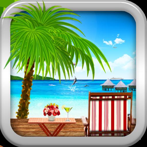 个人化のビーチライブウオールペーパー(有料版) LOGO-記事Game