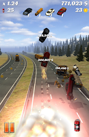 Screenshot of Highway Crash Derby