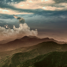 by Deepak Goswami - Landscapes Cloud Formations ( candidate )