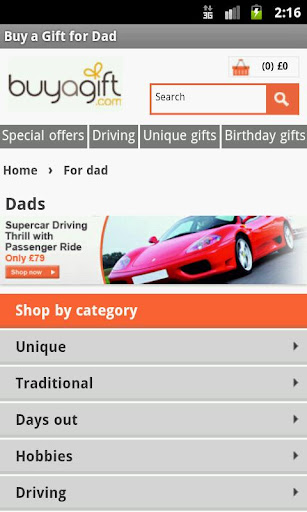 Buy a Gift for DAD UK