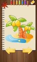Screenshot of Kids Paintings Coloring Book