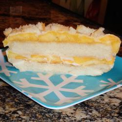Mango Ice Box Cake