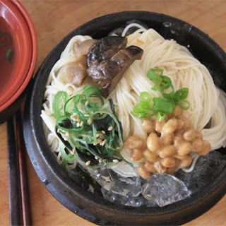 Cold Somen Noodles with Dipping Sauce