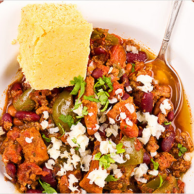 Pork-Lovers' Slow-Cooker Chili
