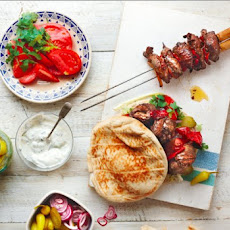 Lamb, Orange And Chile Kebabs