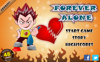Screenshot of Forever Alone - The Game