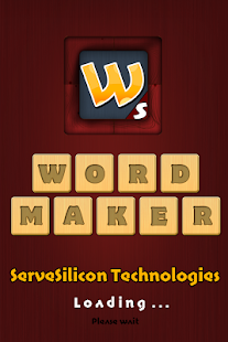 Word Maker Game - screenshot
