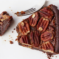 Chocolate-Toffee Pecan Tart