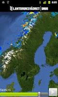 Screenshot of Lantbruksvädret SMHI
