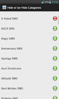 Screenshot of Pi SMS Collection