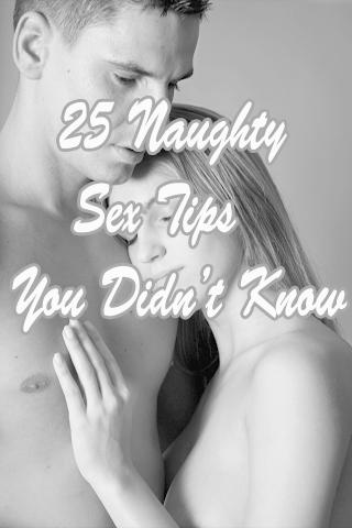 Sex tips you didnt know