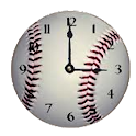 Baseball Clock Widget icon