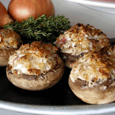 Low Calorie Stuffed Mushrooms