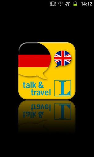 German talk travel