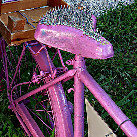 Spike bike by Costa Philippou - Transportation Bicycles ( antalya, bike, spikes, art, nails, turkey )