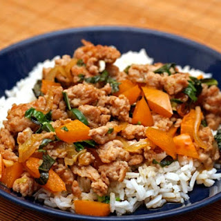 Thai-Style Minced Chicken with Basil and Chiles