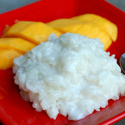 Sticky Rice with Mango (Kao Niow Mamuang)