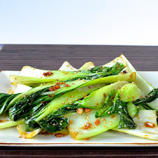 Garlic Ginger Bok Choy