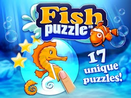 Screenshot of Fish puzzle HD for toddlers