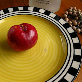 Plum by Mkhawla Sailo - Artistic Objects Cups, Plates & Utensils ( fruit, plate )